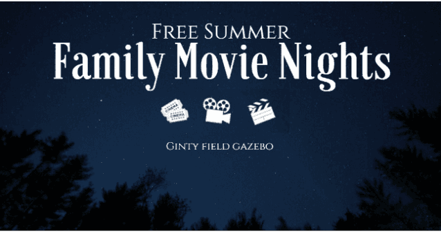 FREE SUMMER FAMILY MOVIE NIGHTS